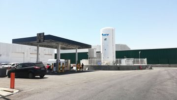 HAM opens the first CNG and LNG station in the Port of Barcelona